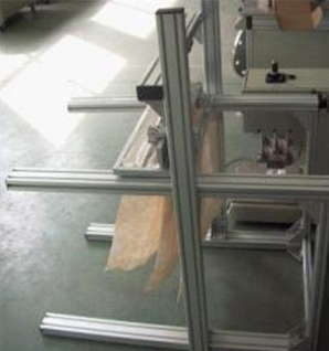 Air filter bag welding machine