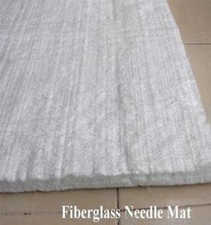 Glassfiber needle felt